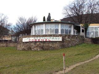 Der Cafépavillon wurde erstmals 1912 errichtet, brannte aber ab. Auer hat es wieder aufgebaut.