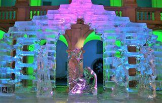 Eiskrippe Landhaushof Graz