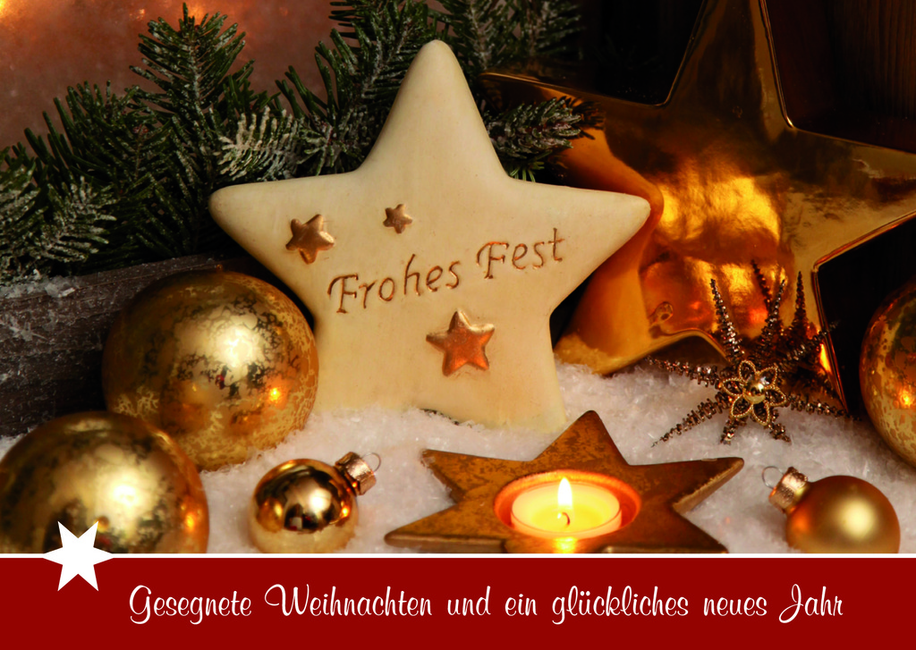 Wünsche Euch allen ein frohes Weihnachtsfest und einen guten Rutsch ...