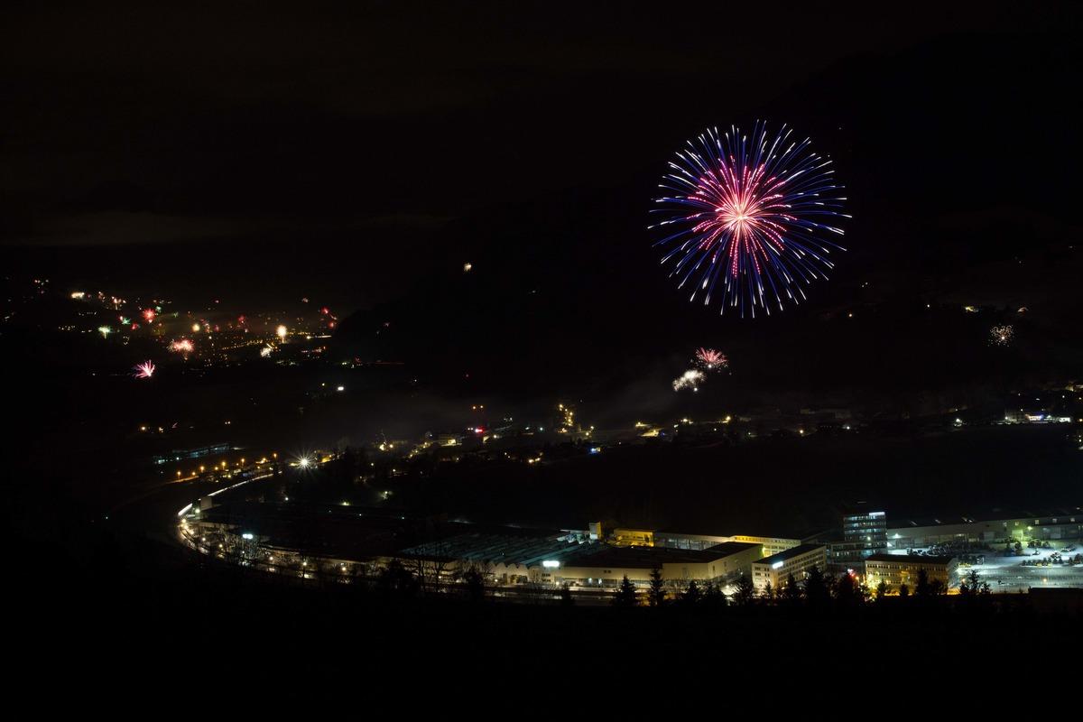 Wünsche euch allen ein Frohes Neues Jahr (Aufnahme vom Vorjahr ...