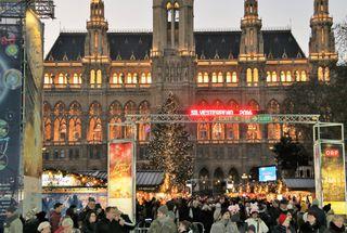 Silvesterpfad, Wien, Rathaus, Rathausplatz