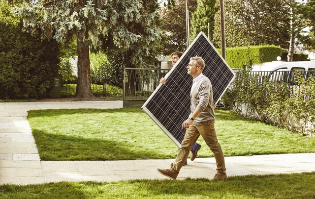 Mit Hilfe der Sonne Ihren eigenen Strom erzeugen!