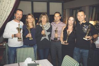 von links nach rechts: Ralf Zehenthofer, Angela Solar, Manuela Grim, Christian Schuster, Line Drechsler, Andreas Schweighofer