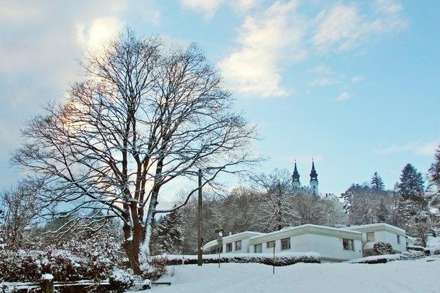 Blick zur Pöstlingbergkirche