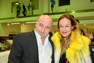 Kabarettist Christoph Fälbl und Schauspielerin Sonja Kirchberger.