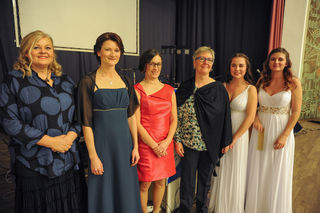 Mag. Margit Stumtner-Petz, Mag. Ingrid Hahn, Mag. Ulrike Weinberger, Mag. Birgit Lang, Elena Pfeifer, Sophia Burghofer