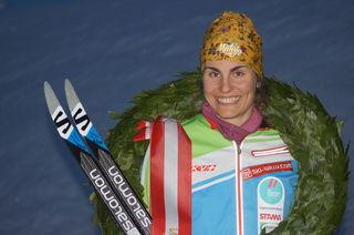 Magdalena Maierhofer gewinnt beim Dolomitenlauf