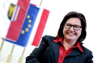 SP-Landtagsabgeordnete Gisela Peutlberger-Naderer kritisiert die Neuordnung der Schulsprengel.