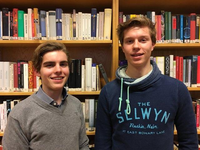 Konstantin Klinger (links) und Moritz Stephan (rechts)- zwei Jungunternehmer sagen Amazon den Kampf an.