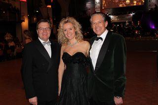 LH Günther Platter, WKT-Präsident Jürgen Bodenseer und seine Monika