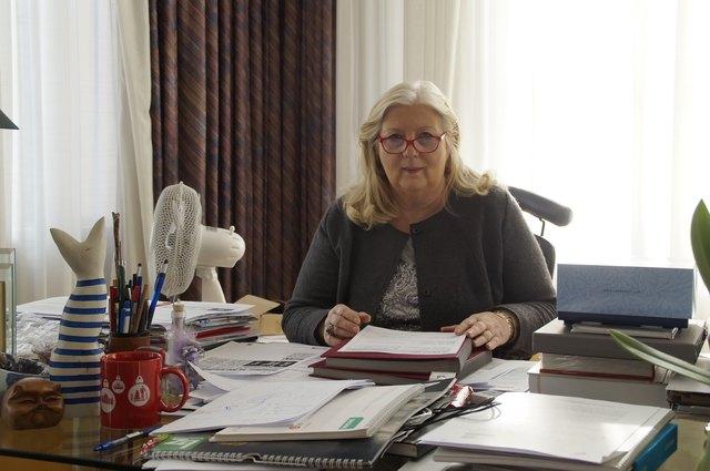 Favoritens Bezirksvorsteherin Hermine Mospointner.