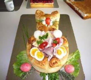 Alles für das Osterfrühstück
