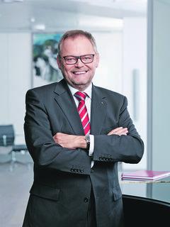 Josef Stockinger, Generaldirektor der OÖ Versicherung.