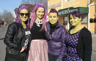 Gar nicht zum Fürchten....bildhübsche Zombies in Jennersdorf