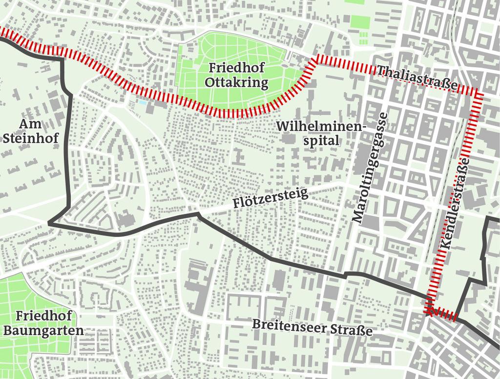 Parkpickerl Neue überlappungszone Zwischen Penzing Und Ottakring