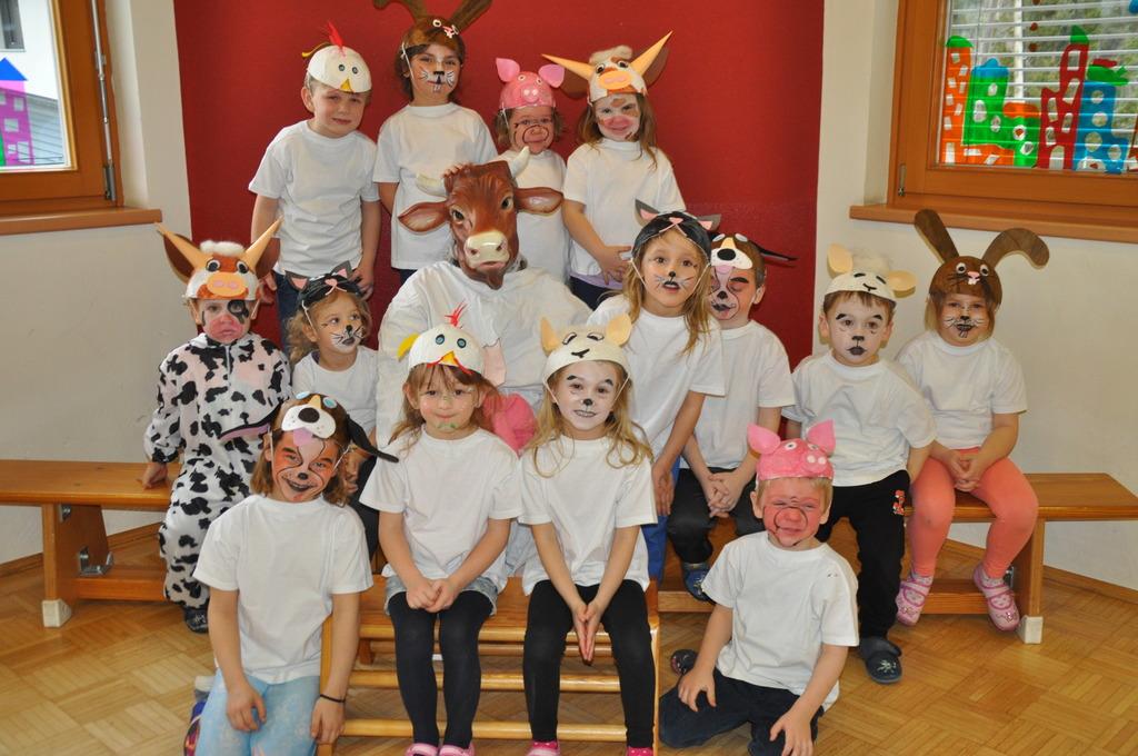 In Den Kindergarten Zogen Kurzfristig Die Tiere Ein Feldkirchen