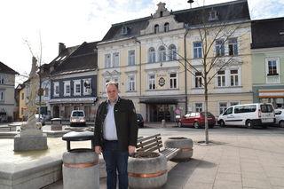 Am Hauptplatz in Feldkirchen wird das ORF-Frühstücksfernsehen Station machen. Bürgermeister Martin Treffner freut das