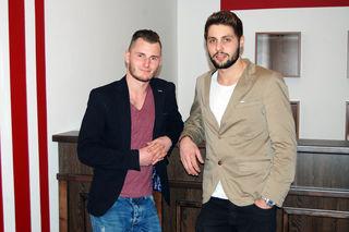 Manuel Huber und Gerald Kritzer wollen mit ihrem Barbershop für Männer und Frauen durchstarten