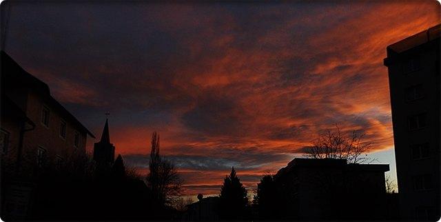 Der Rote Himmel