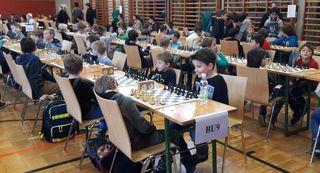 Erfolgreiche Teilnahme der VS Frauental an der Schacholympiade in Gratwein
