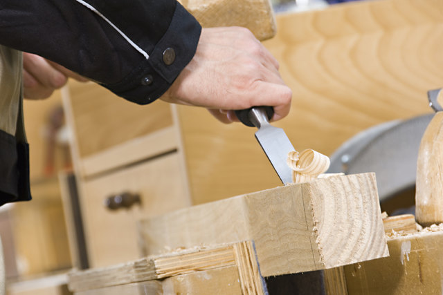 """Hoch: """"Holz ist ein sauberes Material."""""""
