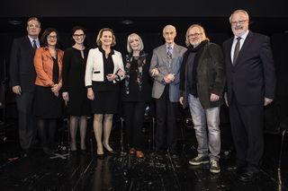 Unter anderem dabei: Bettina Vollath, Erika Pluhar, Alfred Stingl und Kurt Flecker