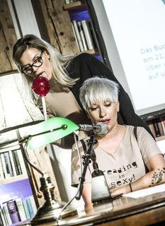 Männerschlussverkauf: Esther Rieser und Tina Veit-Fuchs