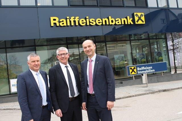 Die Geschäftsleiter Johann Fröschl, Karl Fröschl und Klaus Drabek