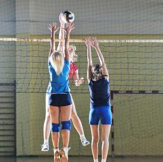 Mit vollen Einsatz werden die Mädels beim Schülerliga-Landesfinale um den Sieg kämpfen.