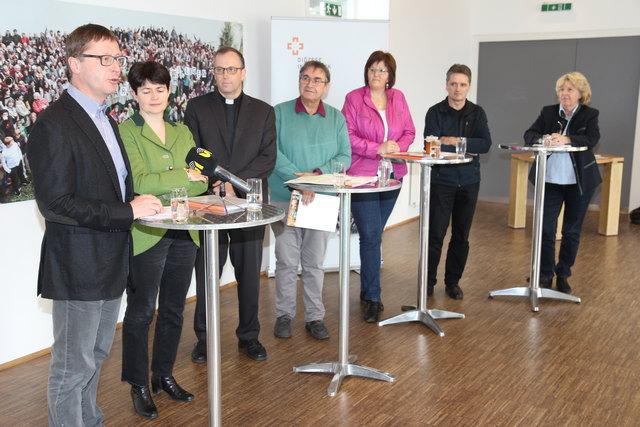 Zur Pfarrgemeinderatswahl (PGR-Wahl) fand kürzlich in der Pfarre Allerheiligen ein Pressegespräch statt.