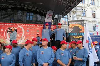 Special Olympics, Facellauf in Graz