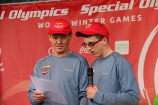 Special Olympics, Graz 2017, Austria, Fackellauf