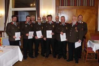 Jahreshauptversammlung der Feuerwehr Klaus im Gasthof Schinagl