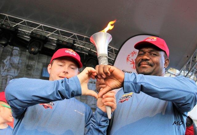 Special Olympics, Fackellauf in Graz