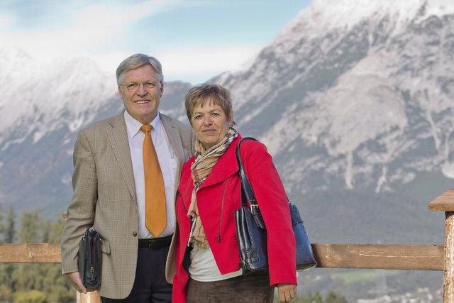 Peter Lutz ist mit seiner Frau Ulli am 2. April in Imst zu Gast.