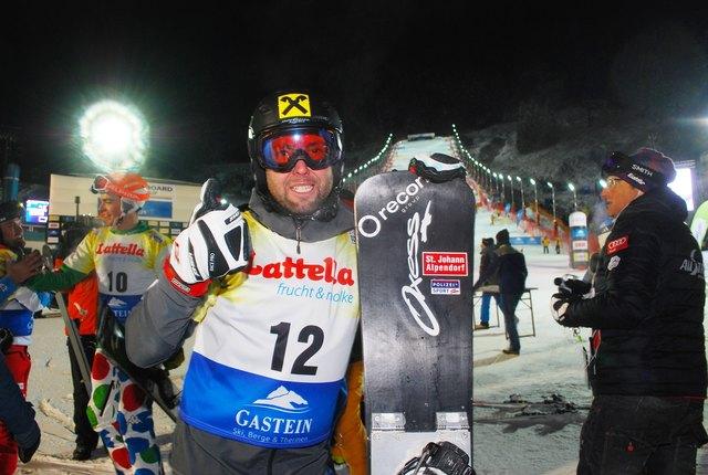 Andi Prommegger gewann nach seinen beiden WM-Goldmedaillen auch noch den Parallel-Gesamtweltcup 2016/17.