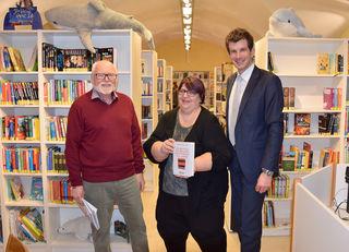 Ing. Franz Kauer, GR Helene Stinakovits und Bürgermeister Christian Macho