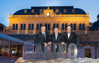 Dr. Clemens Grießenberger (Geschäftsführer WKNÖ FG Werbung), Dkkfm. Günther Hofer (Obmann WKNÖ FG Werbung), Alex Kristan (Moderation)