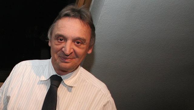 Bruno Mangl beim Bezirksblätter-Interview Anfang 2015.