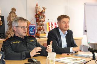 Von links: Franz Humer und Vzbgm. Gerhard Kroiß.