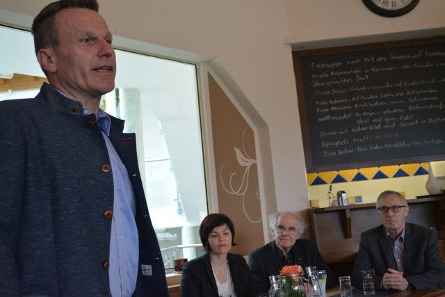 """Thomas Pichler (Wirtschaftsausschuaa Obmann) freut sich auf spannende """"Tage der offenen Betriebe"""" in Ebbs."""