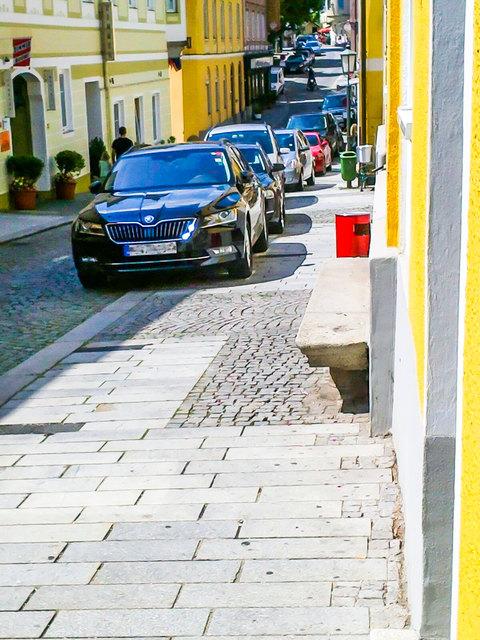 Neue Parkregelung in Grein - FPÖ stimme dagegen.