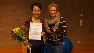 Anita Thallinger (links) und Angelique Reichenberger