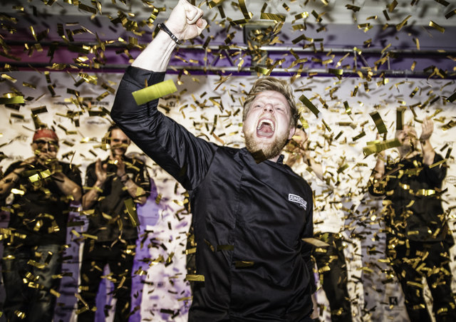 Vor über 1.700 Gästen sicherte sich Stefan Glantschnig  den Sieg und damit den Titel JUNGER  WILDER.