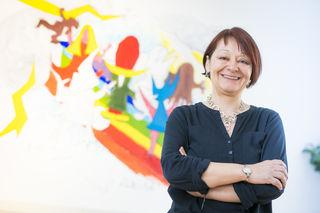 Für ein Kinderlachen: Dagmar Bojdunyk-Rack ist Rainbows-Geschäftsführerin mit viel Herz und Engagement. Neben ihrer Tätigkeit organisiert sie Benefizveranstaltungen, um Spenden für Kinder zu sammeln.