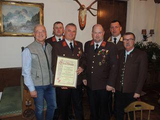 Viele Ehrengäste konnten von Kommandant Markus Kogler bei der Jahreshauptversammlung der FF St. Agatha begrüßt werden.