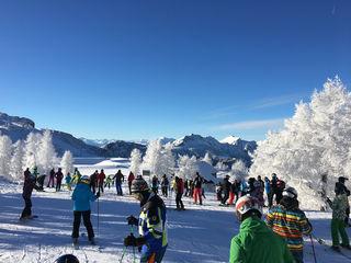 Ein Ski-Winter wie im Bilderbuch