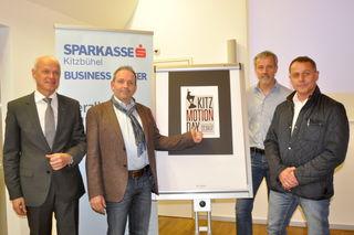 An einem Strang: Klaus Heuberger (Sparkasse), Klaus Kittinger, GR Ludwig Schlechter, Andreas Lachhartinger.