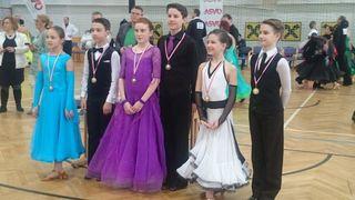 Erfolgreiche Tänzer des TSC Eleganza.