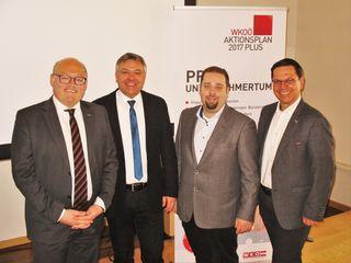 Laurenz Pöttinger, Christoph Schweitzer, Stefan Göttfert, Hans Moser